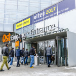 eltec 2017; NCC OST, Einlass, Eingang OST