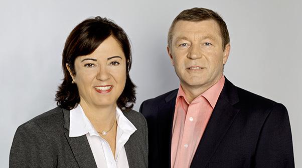CLAUDIA POLIK, Geschäftsführerin MATTHIAS GREB, Betriebsleiter, Elektromeister